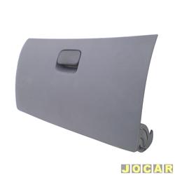 Tampa do porta-luvas - Original Fiat - Palio/Siena/Strada 1996 até 2000 - cinza - cada (unidade) - 713843633