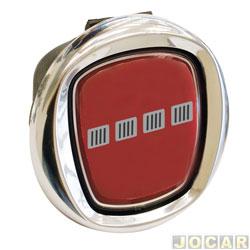 Ma�aneta da tampa da ca�amba - Original Fiat - Strada 2010 em diante - com emblema vermelho - cada (unidade) - 51812533