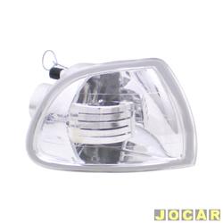 Lanterna dianteira tuning - alternativo - Inovox (RCD) - Palio/Siena/Strada 1996 até 2000 - cristal (branca) - lado do passageiro - cada (unidade) - I2338
