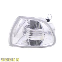 Lanterna dianteira tuning - alternativo - Inovox (RCD) - Palio/Siena/Strada - 1996 até 2000 - cristal (branca) - lado do motorista - cada (unidade) - I2339