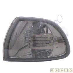 Lanterna dianteira tuning - alternativo - Inovox (RCD) - Palio/Siena/Strada 1996 até 2000 - fumê - lado do motorista - cada (unidade) - I2341
