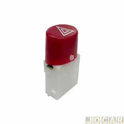 Interruptor de emergência - alternativo - Palio/Weekend/Strada 2008 até 2011 - cada (unidade)