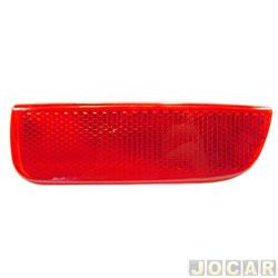 Lanterna do para-choque - Palio Weekend 2005 até 2008 - vermelha - traseiro - lado do passageiro - cada (unidade)