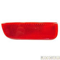 Lanterna do para-choque - Palio Weekend 2005 até 2008 - vermelha - traseiro - lado do motorista - cada (unidade)