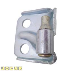 Dobradiça da porta - Palio 1996 até 2011 - dianteira/traseira - inferior - lado do motorista - cada (unidade)