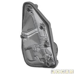 Soquete da lanterna traseira - Fischer - Palio até 2000 - lado do passageiro - cada (unidade) - 30100