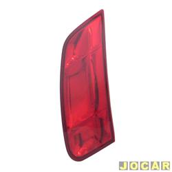 Extensão da lanterna traseira - Magneti Marelli - Siena 2005 até 2007 - vermelha - lado do passageiro - cada (unidade) - IMM0321094