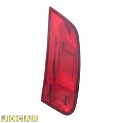 Extensão da lanterna traseira - Magneti Marelli - Siena 2005 até 2007 - vermelha - lado do motorista - cada (unidade) - IMM0322095