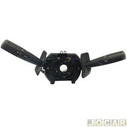 Chave de seta - Kostal - Doblo 2006 até 2013 / Palio/Siena/Strada 2004 até 2013 - com trip - limpador inteligente - preta - cada (unidade) - 1473400