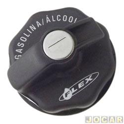 Tampa do tanque de combustível - alternativo - Palio 2004 até 2007  - com chave - cada (unidade)