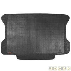 Tapete do porta-malas de borracha - Borcol - Palio hatch 2004 até 2007 - 2 e 4 portas - preto - cada (unidade) - 01416481