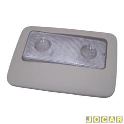 Lanterna de teto - alternativo - Palio 2004 até 2007 - cinza claro - cada (unidade)