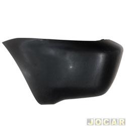 Ponteira do para-choque traseira - importado - Chery Tiggo 2010 até 2013 - para pintar - lado do motorista - cada (unidade) - 24979.