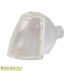 Lanterna dianteira - Fitam - Renault 19 1993 até 1998 - acrílico - cristal (branca) - lado do motorista - cada (unidade) - 32028-E