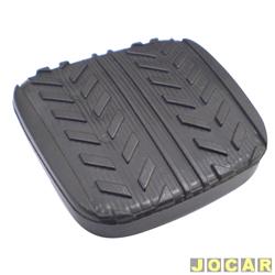 Capa de pedal - alternativo - Besta 1995 em diante - Topic 1997 até 1999 - preto - cada (unidade)