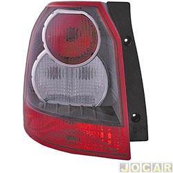 Lanterna traseira - Hella - Land Rover Freelander 2006 até 2010 - lado do motorista - cada (unidade) - 2SK.354.035.011