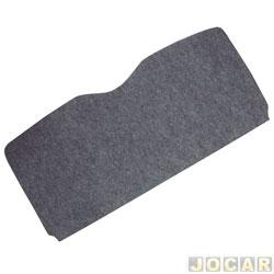 Tampão do porta-malas - alternativo - MLC - Scénic 1999 em diante - de madeira compensado 10mm com carpete - cinza - cada (unidade) - 500628