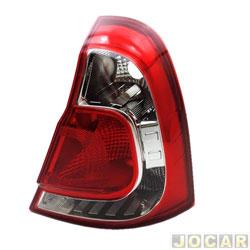 Lanterna traseira - Valeo/Cibié - Clio Hatch 2013 em diante - lado do passageiro - cada (unidade) - 265553463R