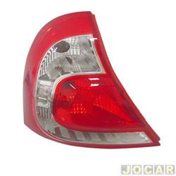 Lanterna traseira - Valeo/Cibié - Clio Hatch 2012 á 2014  - lado do motorista - cada (unidade) - 046.012