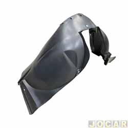 Para-barro do para-lama dianteiro - alternativo - Sandero 2007 até 2014 - lado do motorista - cada (unidade)