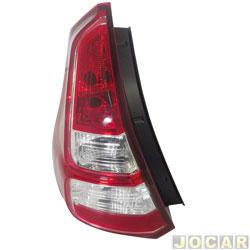 Lanterna traseira - Sandero 2012 até 2014 - bicolor - lado do motorista - cada (unidade)