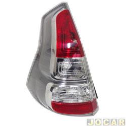 Lanterna traseira - Depo - Sandero 2012 até 2014 - aba cinza - lado do motorista - cada (unidade) - 511820