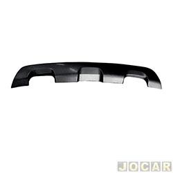 Moldura do para-choque - importado - Sandero Stepway 2014 em diante - preto - traseiro - inferior - cada (unidade) - 25689