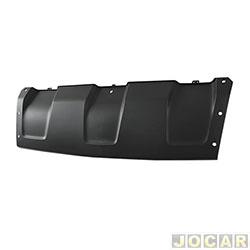 Moldura do para-choque - importado - Duster 2011 até 2015 - preto texturizado - dianteiro - cada (unidade) - 25715