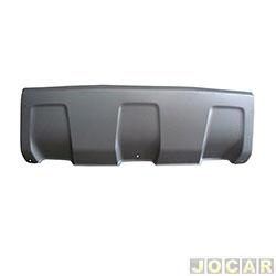Moldura do para-choque - importado - Duster 2011 até 2015 - cinza texturizado - dianteiro - cada (unidade) - 25716