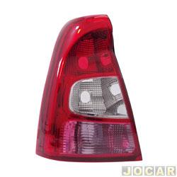 Lanterna traseira - importado - Logan 2010 até 2013 - lado do motorista - cada (unidade) - 17578