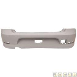Para-choque traseiro - importado - Logan 2011 até 2013 - para pintar - cada (unidade) - 51975