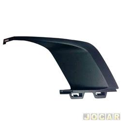 Moldura grade do para-choque - Retov - Peugeot 308 2011 até 2013 - preta - dianteiro - lado do motorista - cada (unidade) - 4697