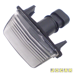 Lanterna da placa - alternativo - 206 2001 em diante - C3 2003 até 2012 - cada (unidade)