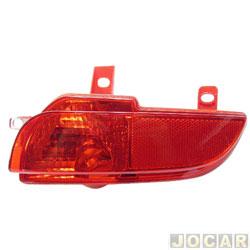 Lanterna do para-choque - Fitam - Peugeot 207 hatch 2008 até 2013 - antineblina - vermelha - traseiro - lado do passageiro - cada (unidade) - 34083-D