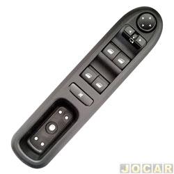 Interruptor do vidro - alternativo - KTR - Peugeot 307 2004 em diante - conjunto - 9 pinos - cada (unidade) - 52783