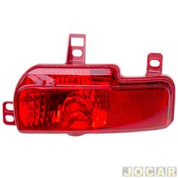 Lanterna do para-choque - Fitam - Peugeot 207 2008 até 2013 - anti neblina - sedan - traseiro - lado do passageiro - cada (unidade) - 34080-D