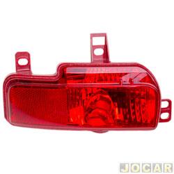 Lanterna do para-choque - Fitam - Peugeot 207 sedan 2008 até 2013 - anti neblina - traseiro - lado do motorista - cada (unidade) - 34080-E
