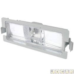 Lanterna da placa - alternativo - HB20 2012 até 2015 - cada (unidade)