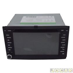 Central multimídia - Hurricane - Sportage 2007 até 2010 - GPS/Bluetooth/TV Digital/SD/USB/Camera de Ré - cada (unidade) - HR Sportage