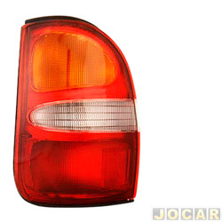 Lanterna traseira - Depo - Besta GS 1998 até 2004 - tricolor - lado do motorista - cada (unidade) - 57379