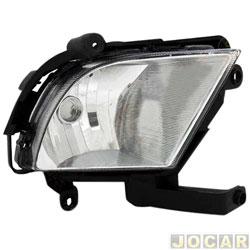 Farol de neblina - alternativo - Kia Cerato 2010 até 2013 - lado do motorista - cada (unidade)