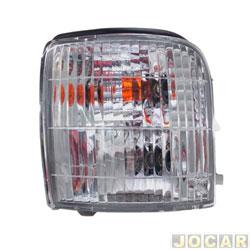 Lanterna dianteira - importado - Bongo K2700 1997 até 2003 - lado do motorista - cada (unidade) - OK60C-51070C