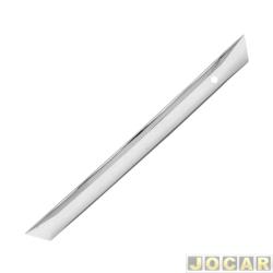 Friso aplique do capô traseiro - Sport Inox - Civic 2007 até 2011 - auto colante - resinado - aço escovado - superior - cada (unidade) - HO002FSIE