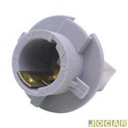 Soquete da lanterna traseira - alternativo - Fit 2003 até 2008 - 2 polos pino encontrado - cinza - cada (unidade)