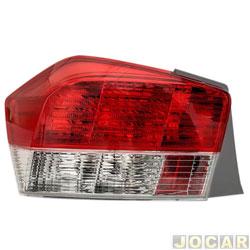 Lanterna traseira - importado - City 2009 até 2012 - traseiro - lado do passageiro - cada (unidade) - 58495