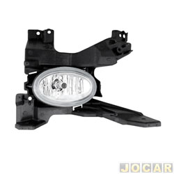 Lanterna traseira - alternativo - Acrilux - Fit 2003 at� 2008 - Acrilico - lado do passageiro - cada (unidade) - 7700-D