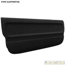 Tampão do porta-malas - alternativo - Fit 2003 até 2008 - de madeira - preto - cada (unidade)