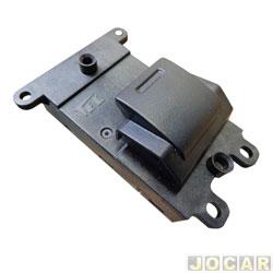 Interruptor do vidro - alternativo - Fit/City 2009 até 2014 - simples - dianteiro/traseiro - cada (unidade)