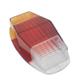 Lente da lanterna traseira - alternativo - Artmold - Bandeirante 1967 até 1989 - tricolor - cada (unidade) - 1406