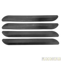 Protetor do para-choque - alternativo - Corolla 1999 até 2002 - preto - jogo